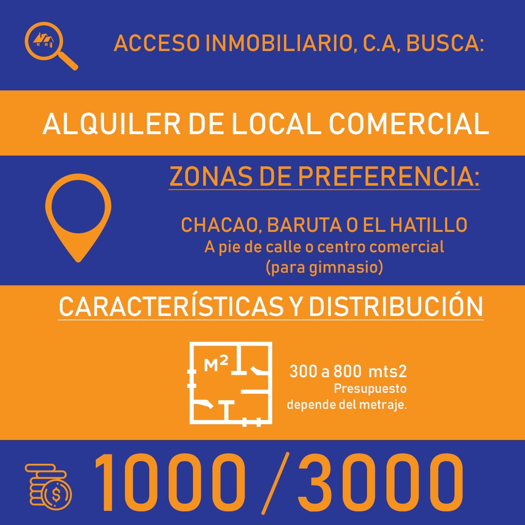 Acceso Inmobiliario Busca Local comercial en alquiler