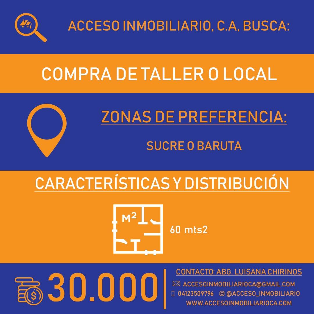 Acceso Inmobiliario Compra de taller o local