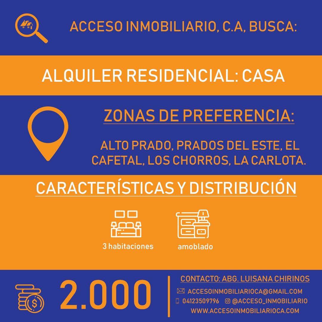 Acceso Inmobiliario alquiler residencial casa