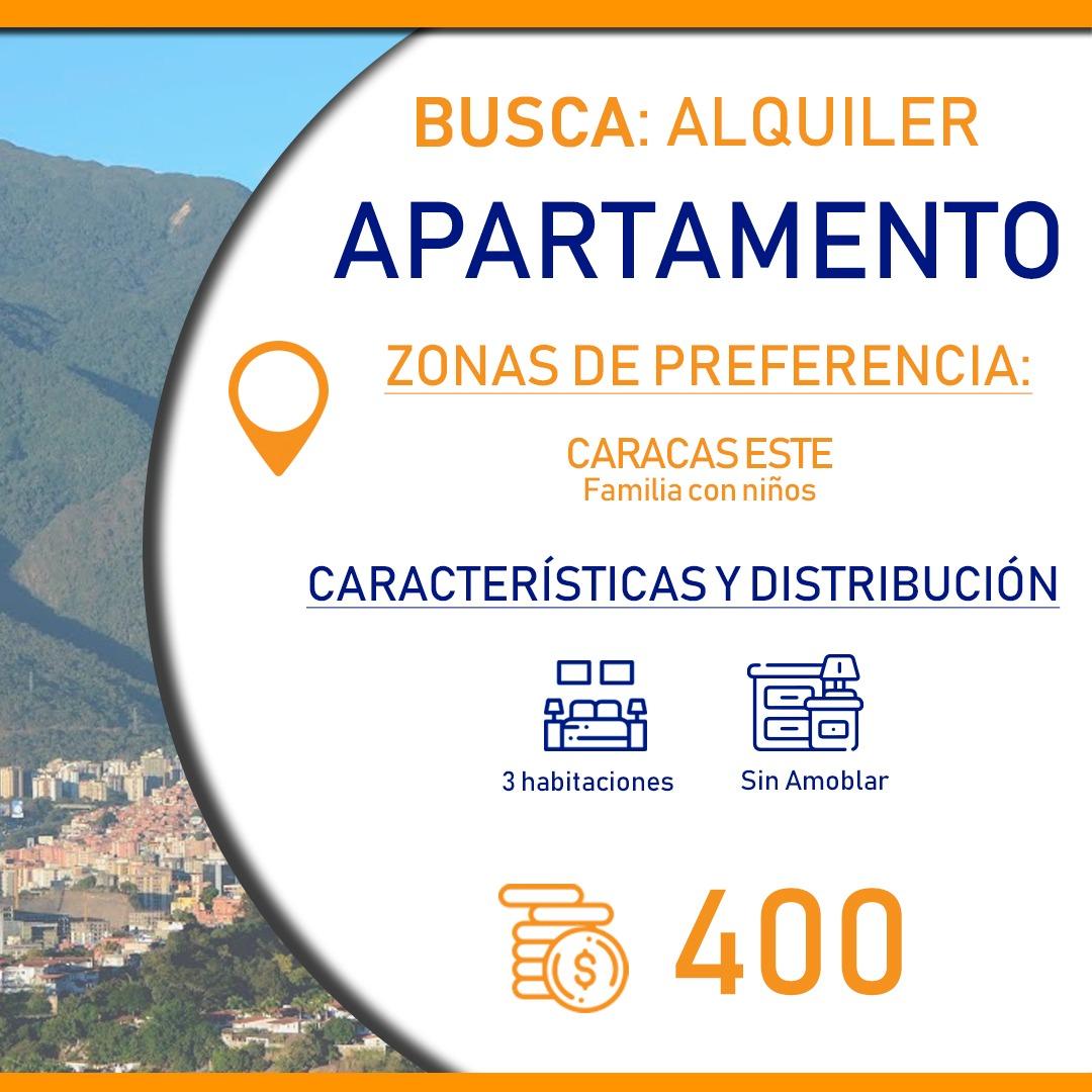 Acceso Inmobiliario busca alquiler apartamento